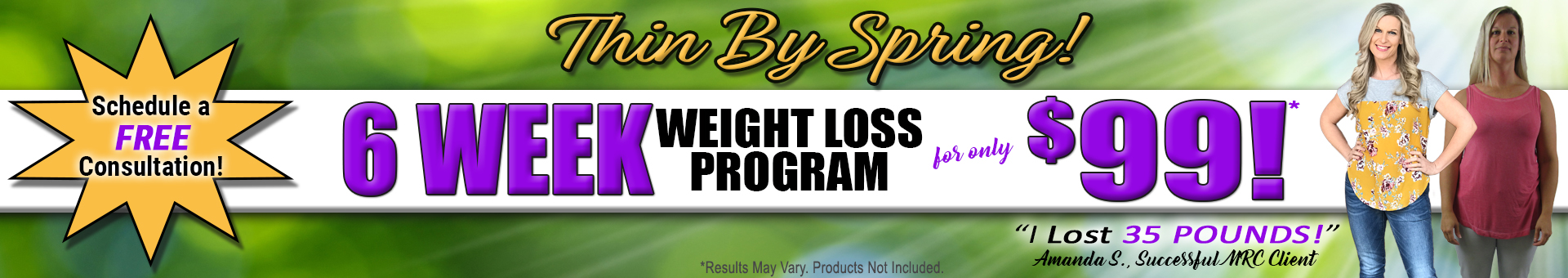 MRC Weight Loss Banner