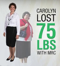 Blog Image: Carolyn lost 75 pounds and is actively maintaining her loss!