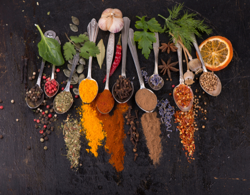 Blog Image: Herbs & Spices Can Lower Cortisol to Boost Weight Loss