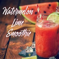 Watermelon-lime Smoothie
