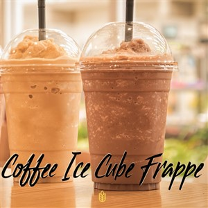 Coffee Ice Cube Frappe