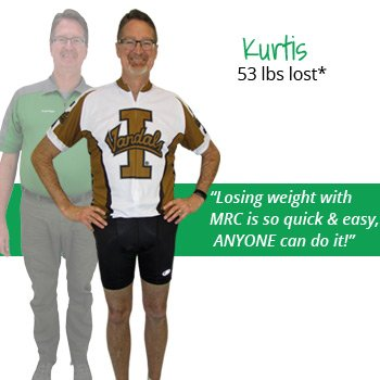Kurtis's weight loss testimonal image