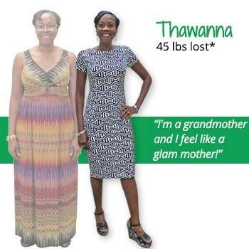 Thawanna's weight loss testimonal image