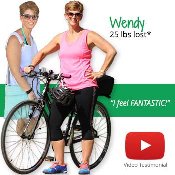 Wendy's weight loss testimonal image
