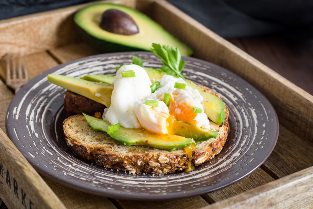 Recipe Image: Avocado & Egg Toast