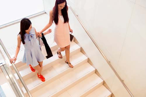 Boost your weight loss efforts with secondary exercise, like skipping the elevator for the stairs.