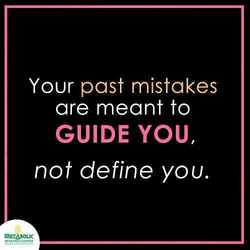 Let Go Of The Past and Lose Weight