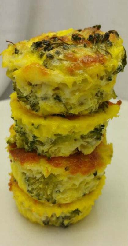 Cheesy Protein-packed Broccoli Breakfast Souffle