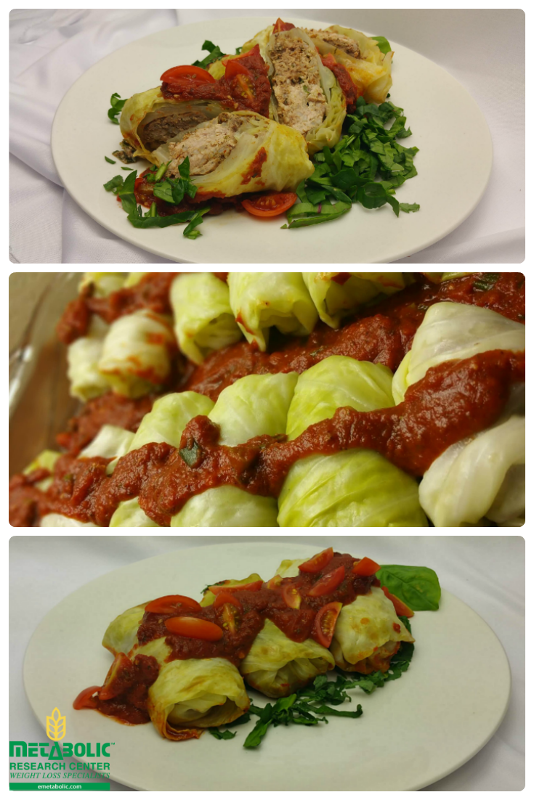 Lean and Easy Homemade Cabbage Roll Ups