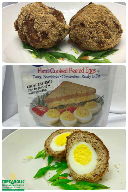 Oven-Baked Low-Fat Scotch Bonnet Egg