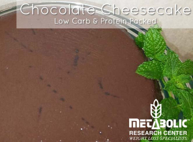Recipe Image: Double Chocolate Cheesecake