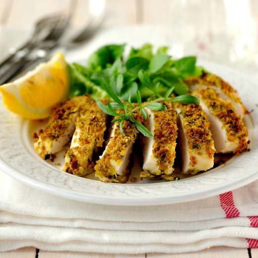 Honey Mustard Crusted Chicken