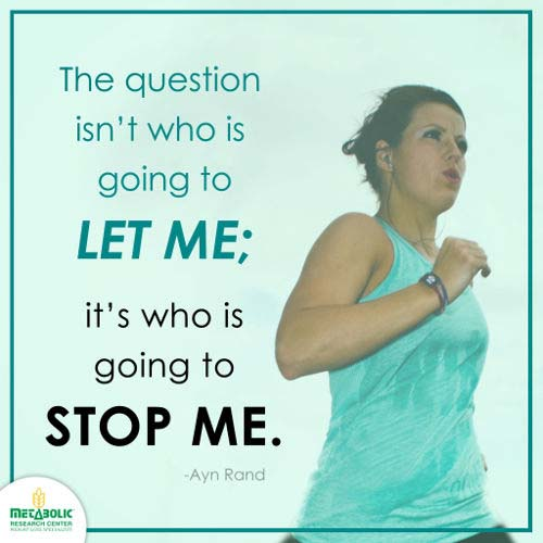 Weight Loss Quote You Can't Stop Me