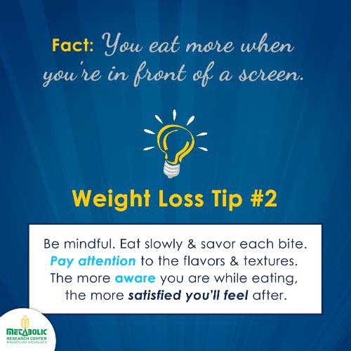 Weight Loss Tip 2