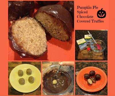 Pumpkin Pie Spiced Truffles MRC