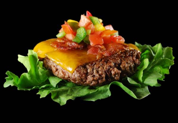 Recipe Image: Zesty Salsa Burger