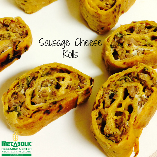 Sausage Cheese Rolls