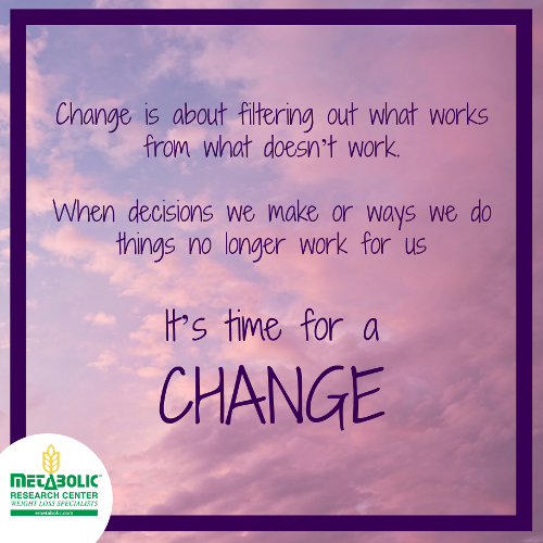 Time For Change Quote