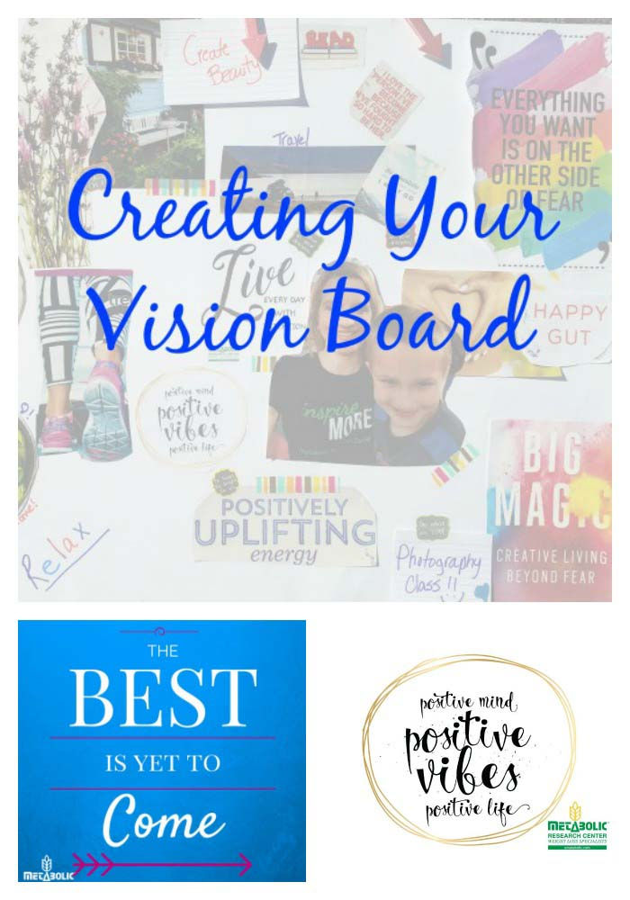 Blog Image: Creating a Vision Board. Free Printables!