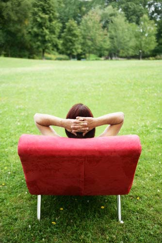Person Relaxing to Reduce Stress