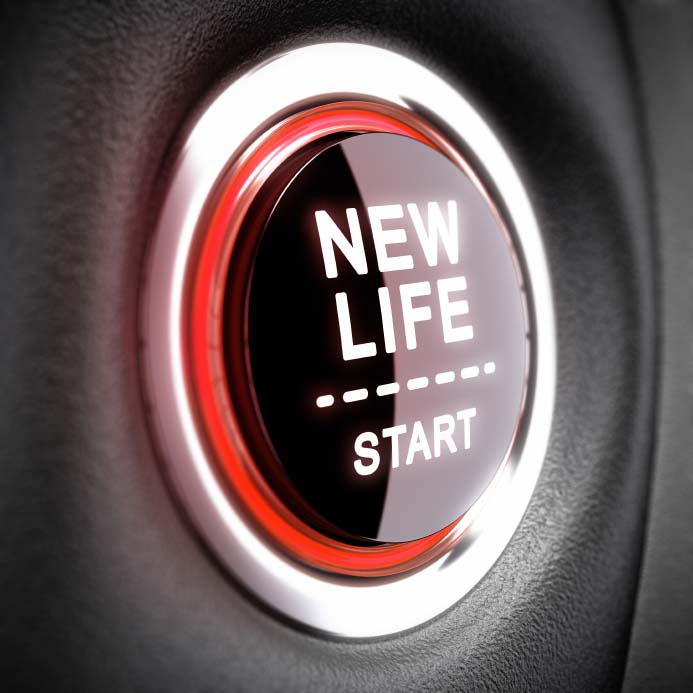Starter Button for a New Life