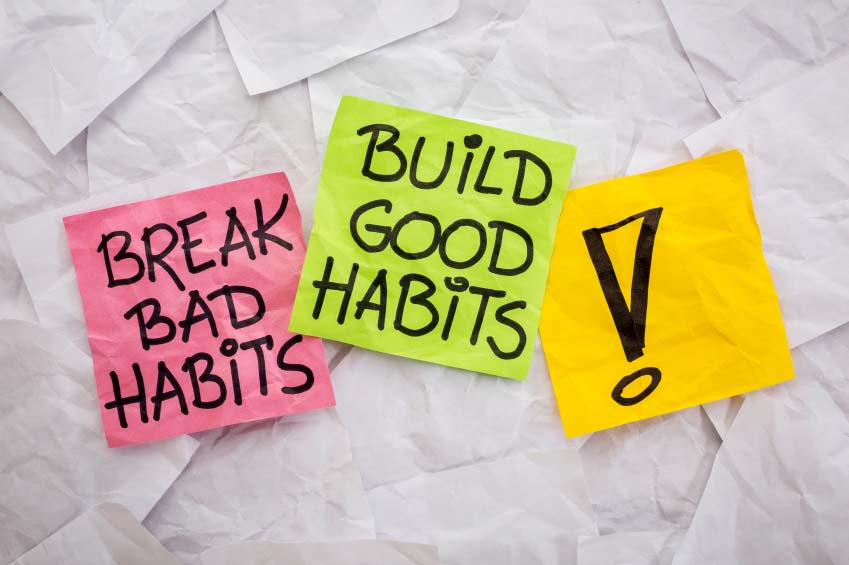 Notes to Break Bad Habits and Build Good Habits