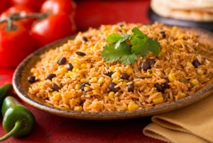 Rice and Beans Protein Plate