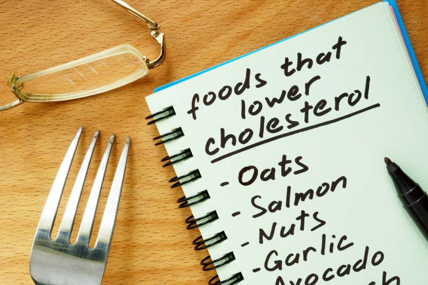 List of Cholesterol Friendly Foods