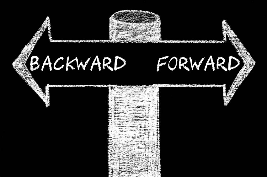 Backward versus Forward