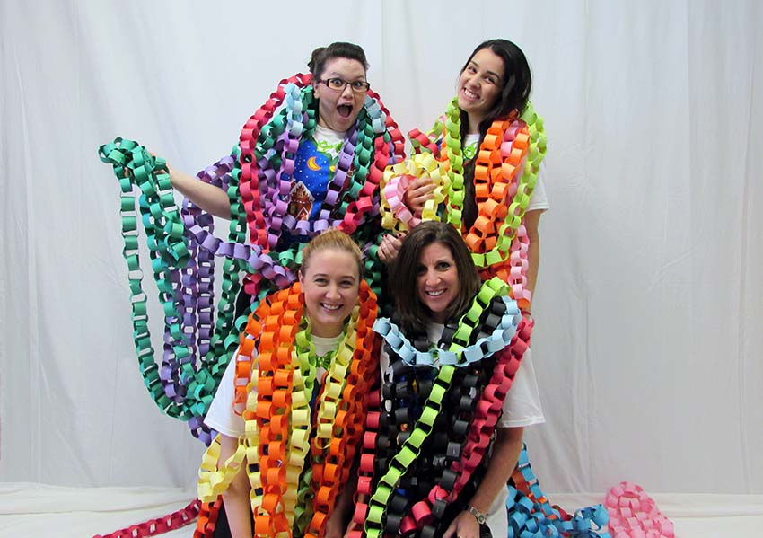 The Ft Walton team is wrapped in the 2015 weight loss chain, the clients lost 4,641 pounds.