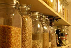 Jars of Psuedograins