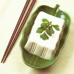Tofu with Parsley Leaf