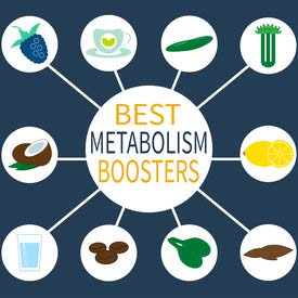 Chart Showing Best Metabolism Boosters