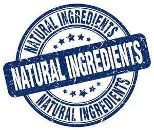 Food Label for NATURAL INGREDIENTS