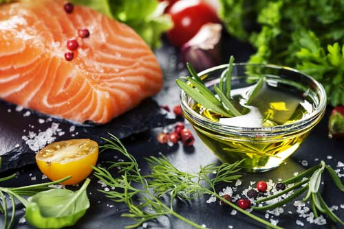 Polyunsaturated Fat Sources in Salmon and Olive Oil