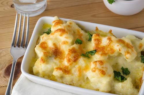 Cauliflower Substitute for Mac-n-Cheese