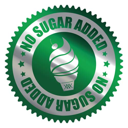 Label for No Added Sugar