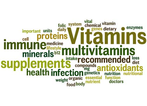 Word Graph for Multivitamins