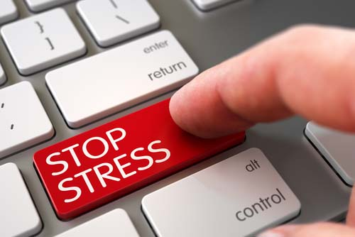 Stop Stress Button on Keyboard