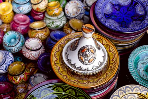 Colorful Tagines